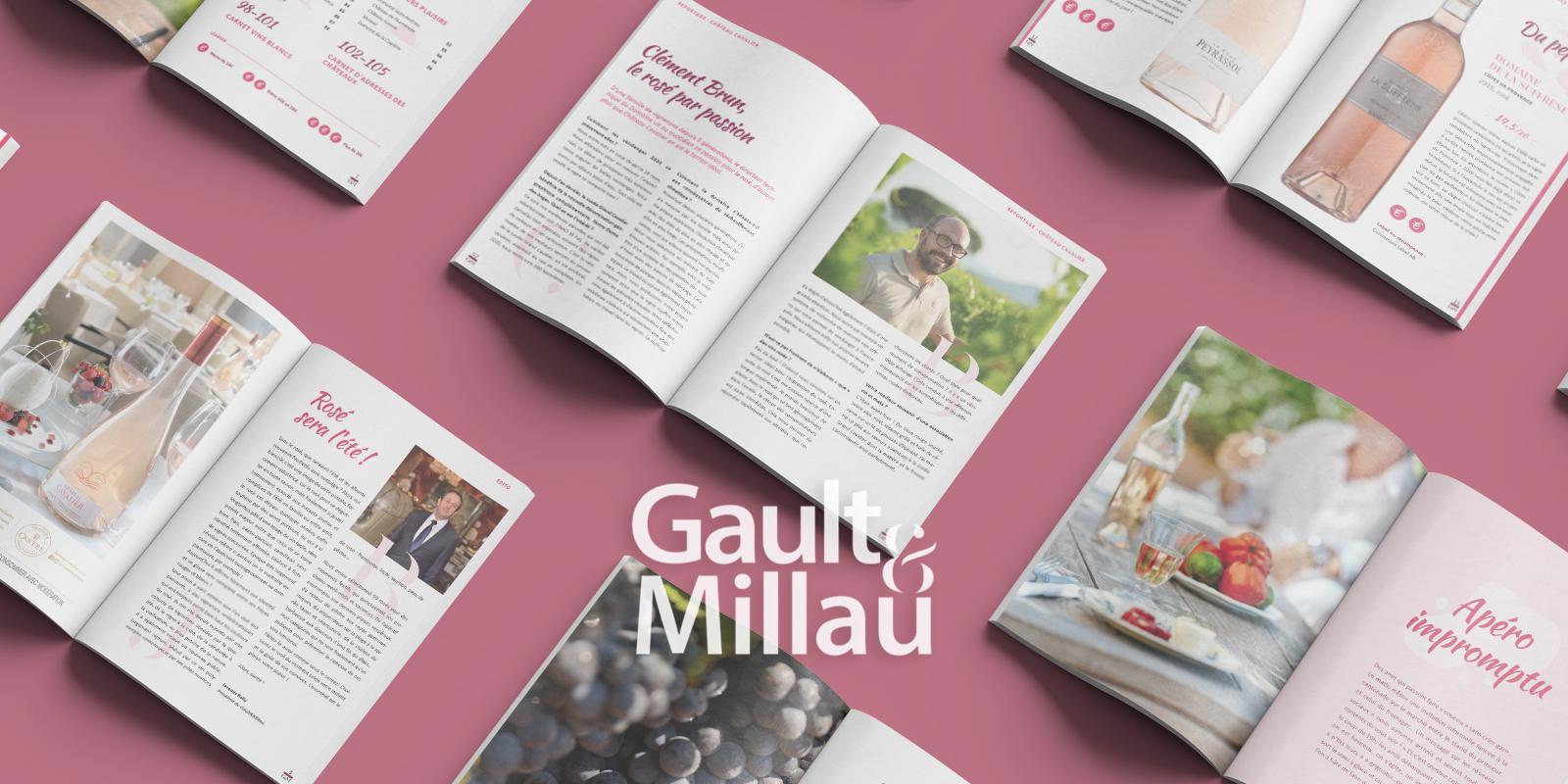 vignette Gault&Millau carnet été rosé