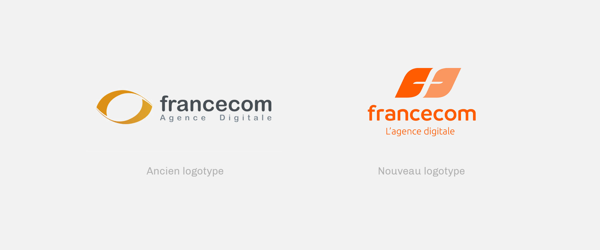 francecom ancien nouveau logos
