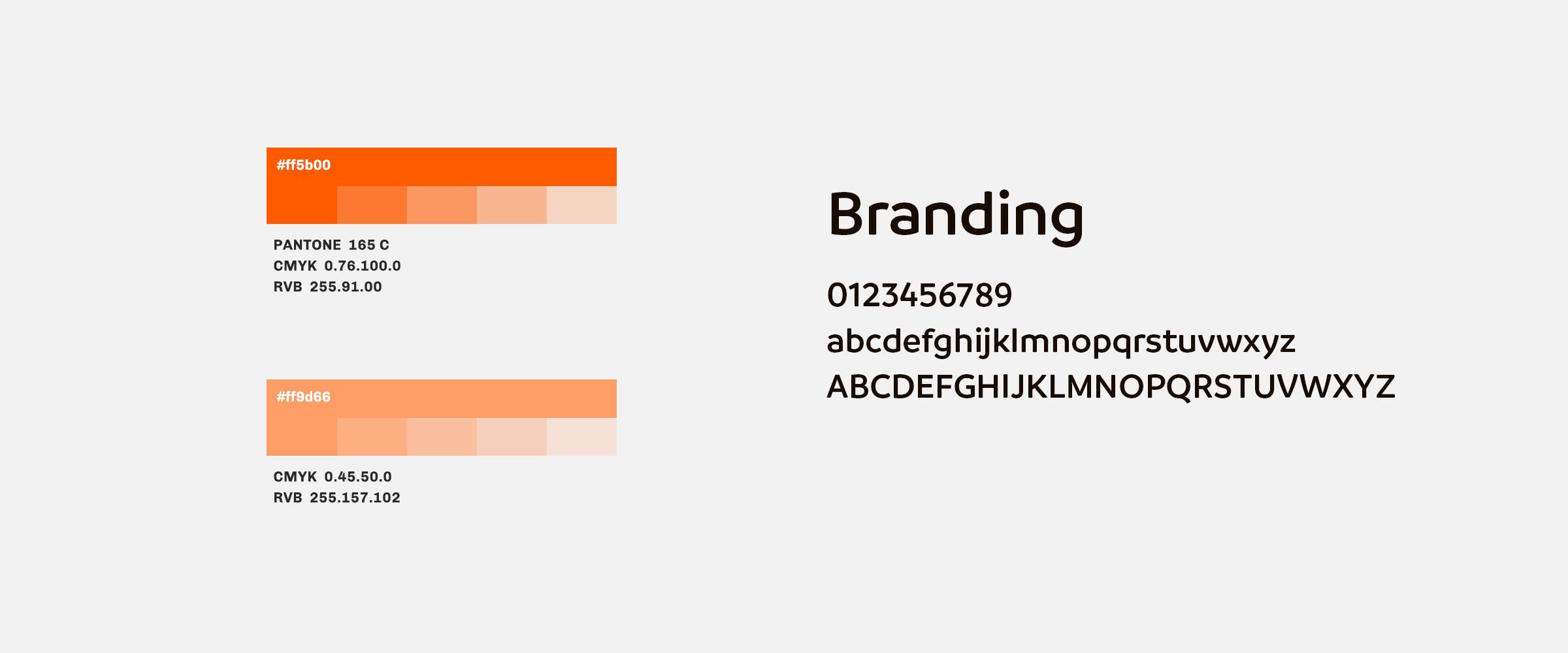 francecom couleurs et typographie