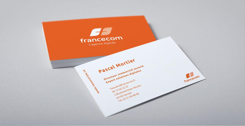 francecom business cards
