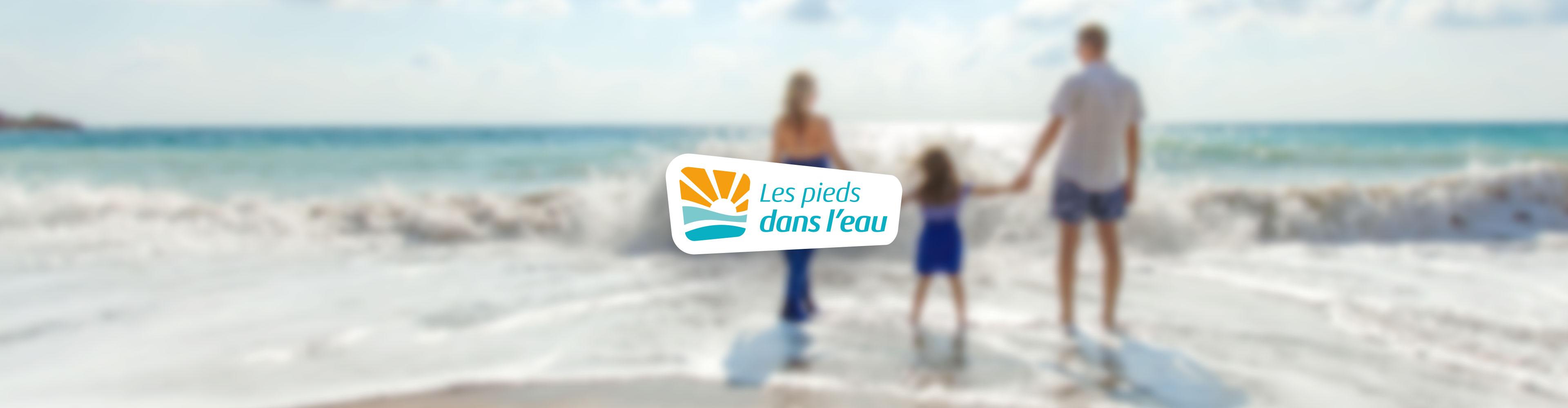 Les pieds dans l'eau hero image logo