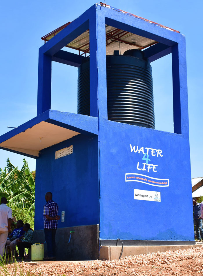 A Water Compass solar-powered water point