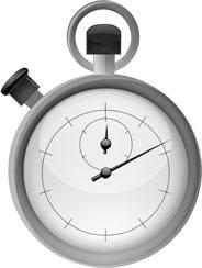 Chronomètre tourne