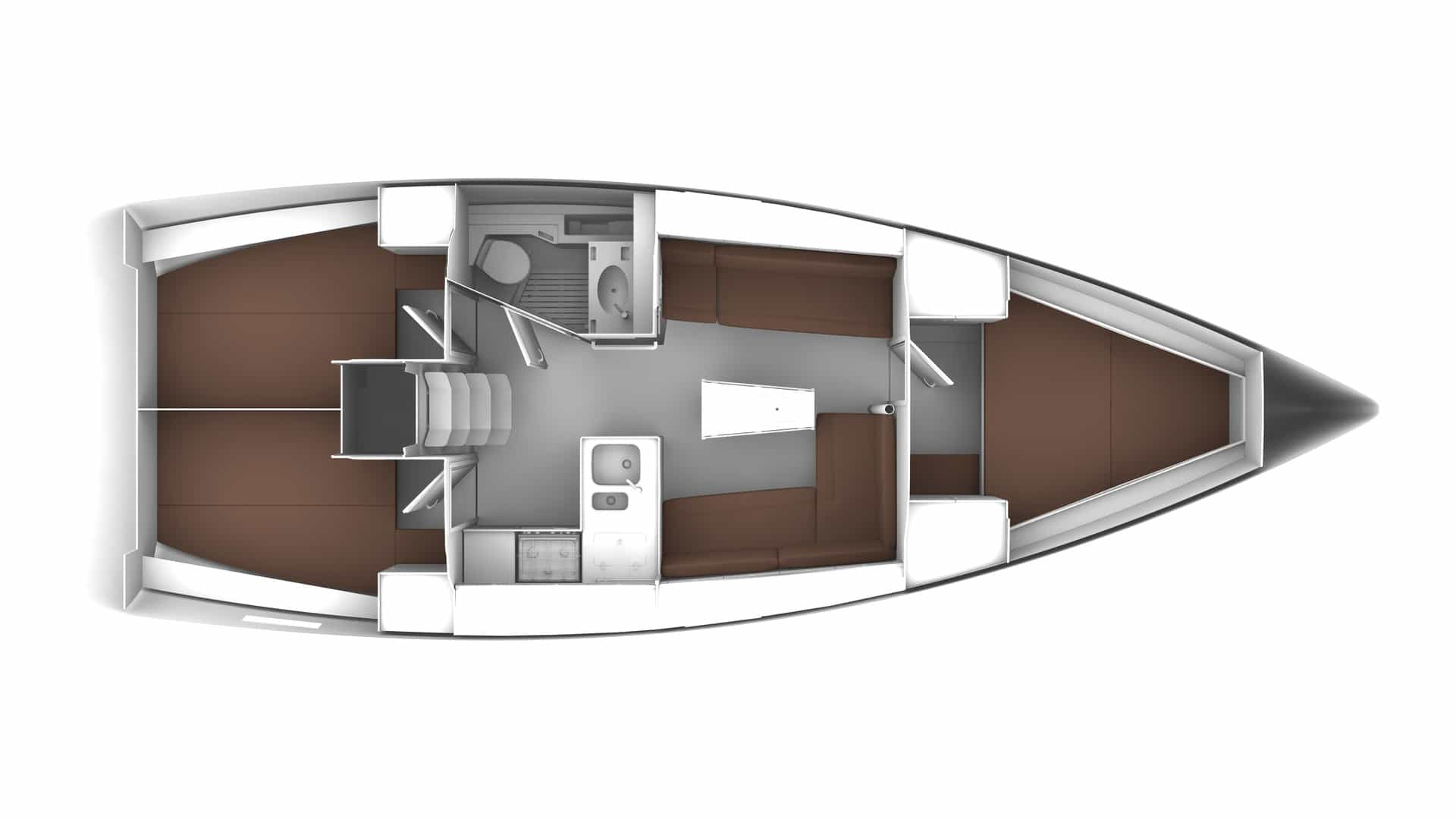 Bavaria Cruiser 37 layout