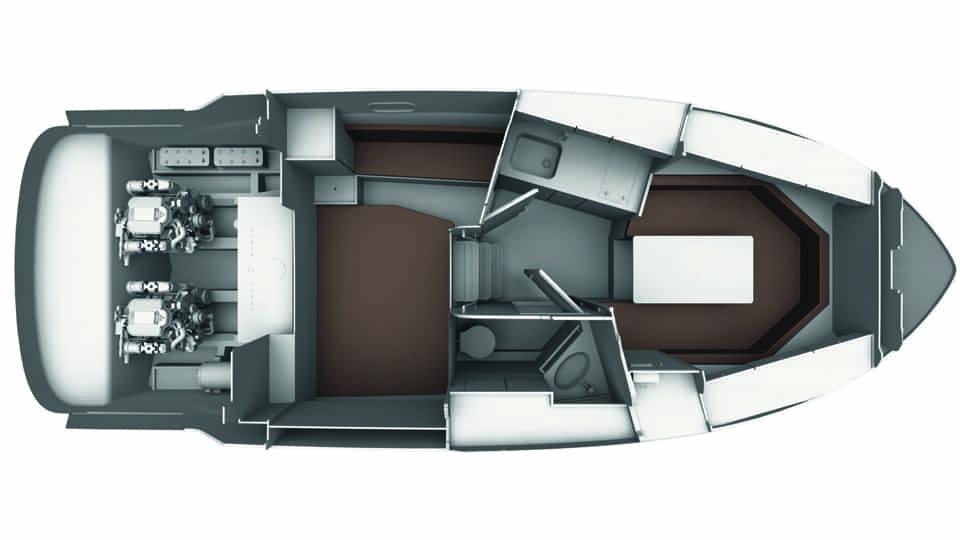 Bavaria S29 layout