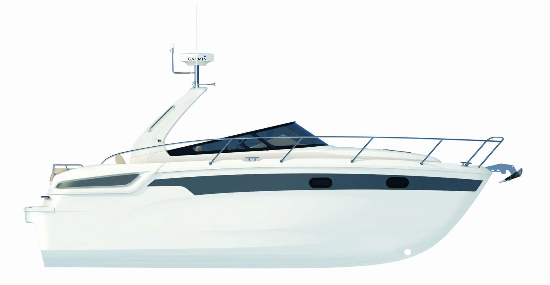 Bavaria S29 profil
