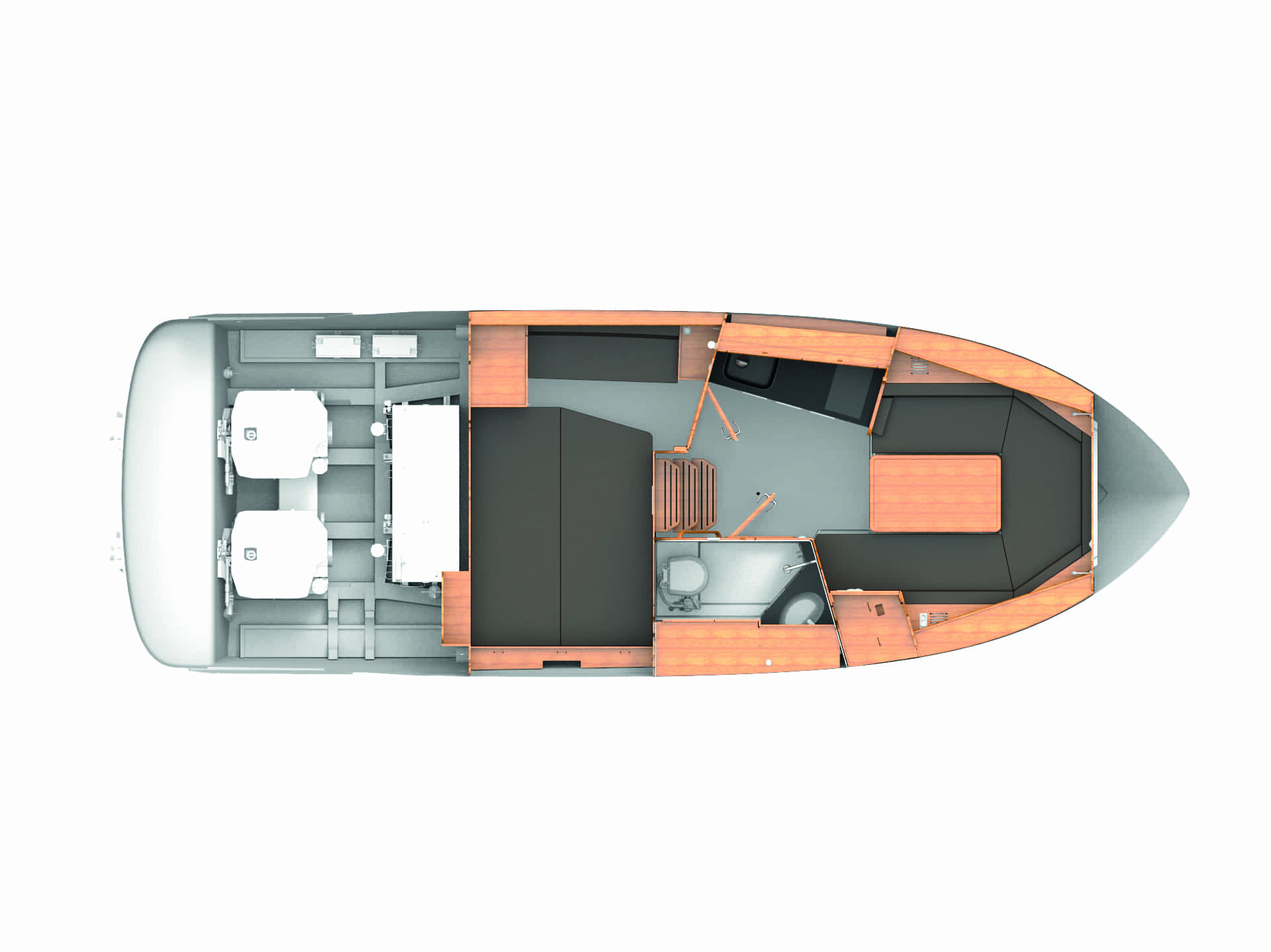 Bavaria S30 layout
