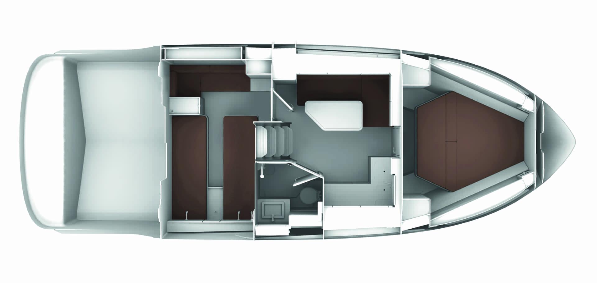 Bavaria S36 layout