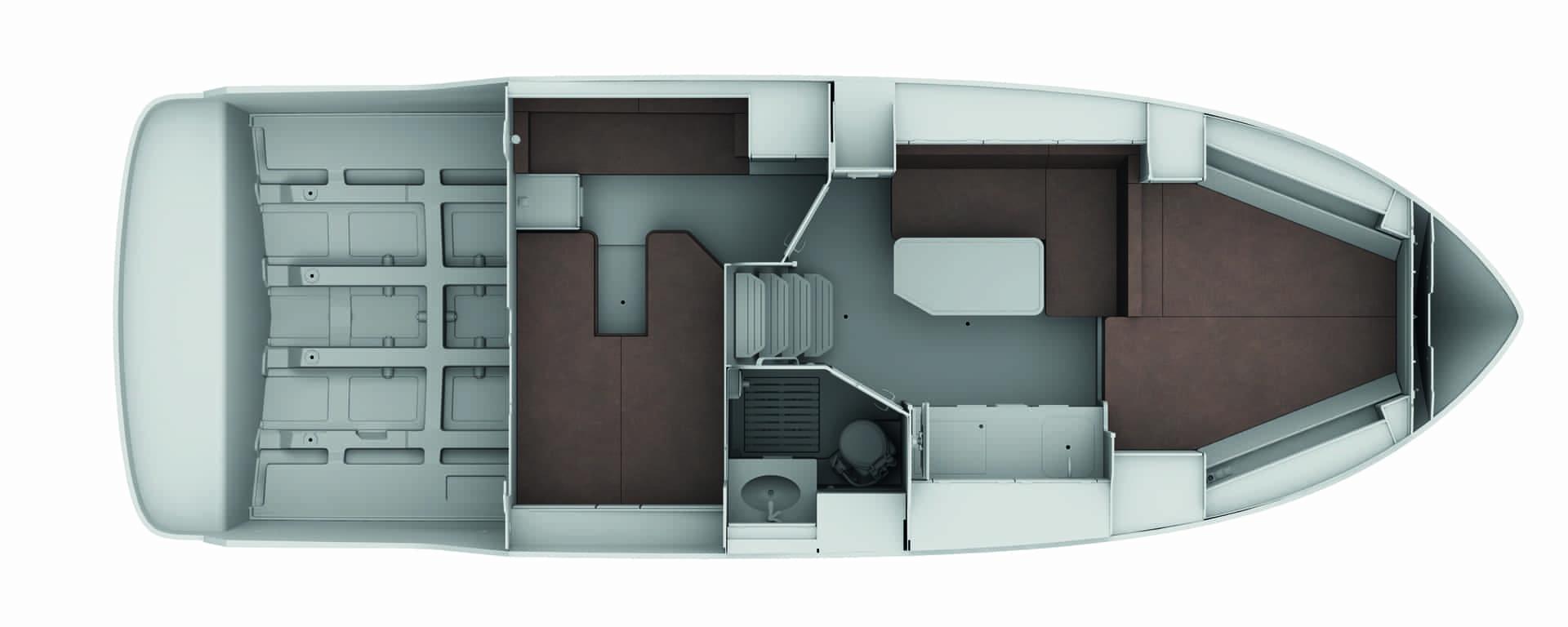 Bavaria S33 layout