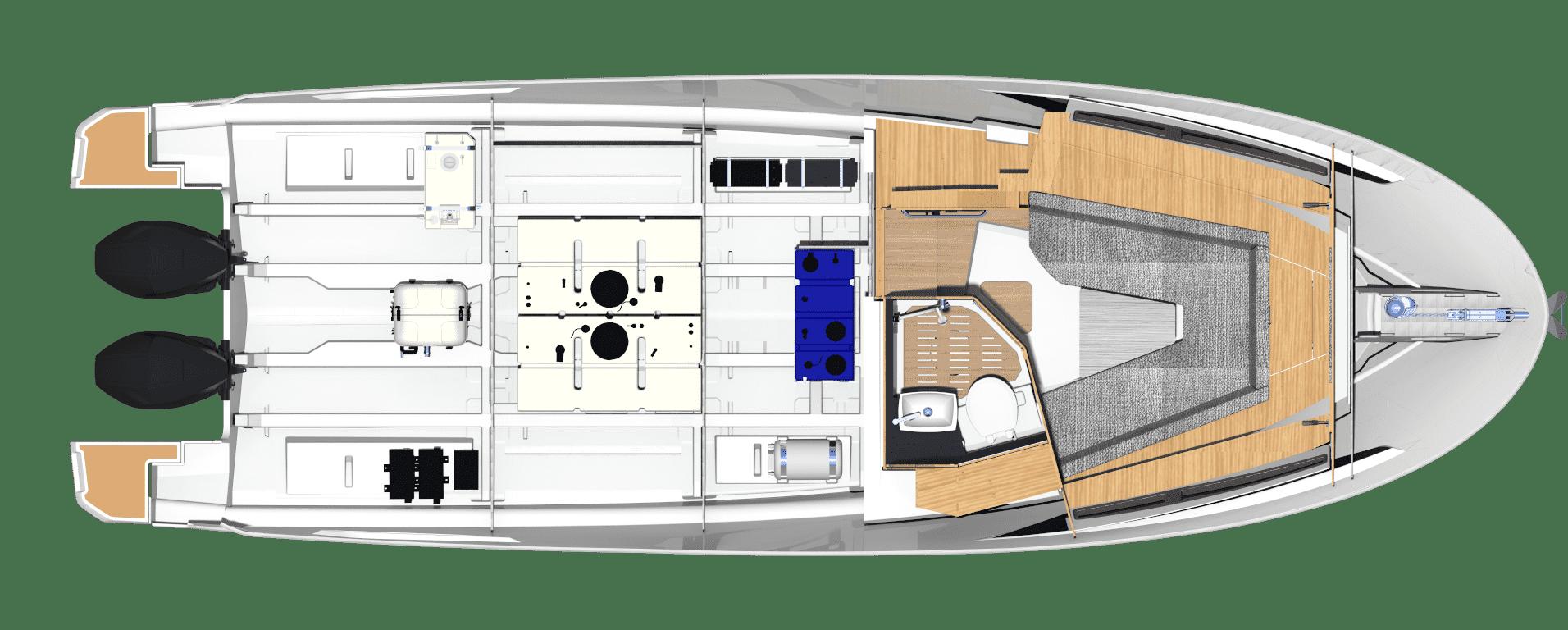 Bavaria Vida 33 layout