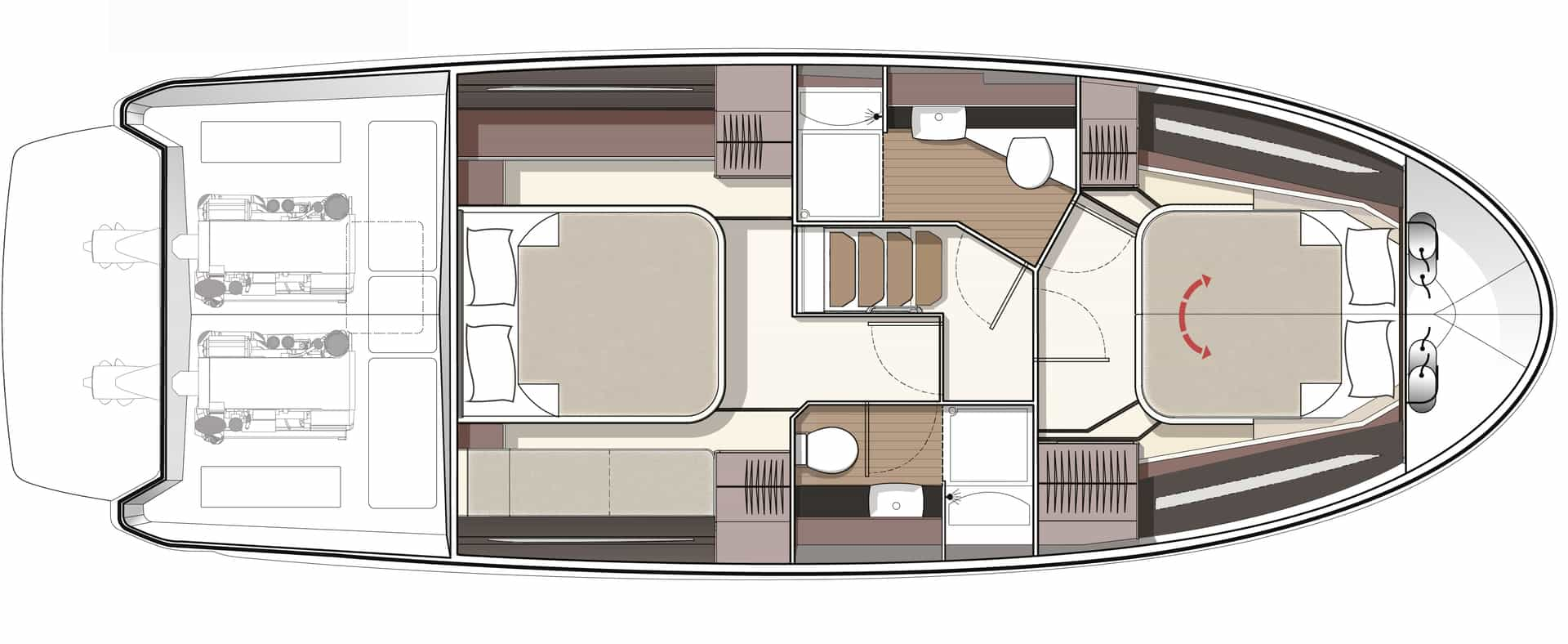 Bavaria R40 layout