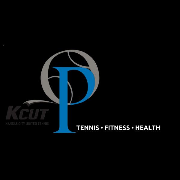 Logo for tennis, fitness, health.