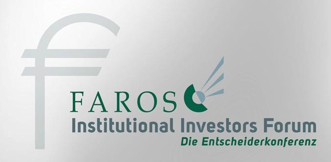 Das FAROS Institutional Investors Forum (FIIF)