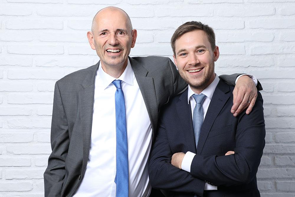 Bodo Hollung und Sebastian Betz