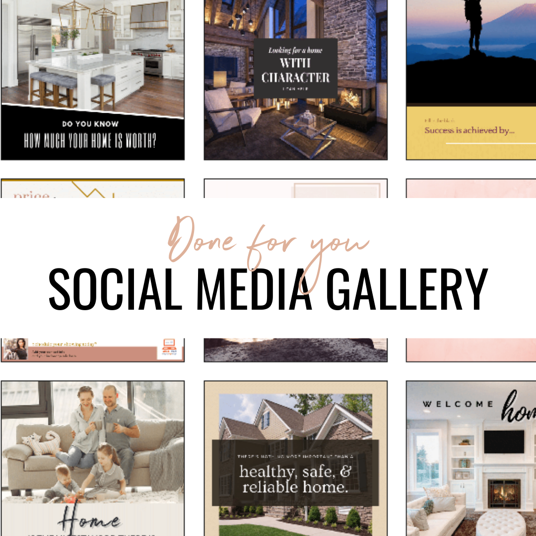 Social media marketing example, When does a house become a home?