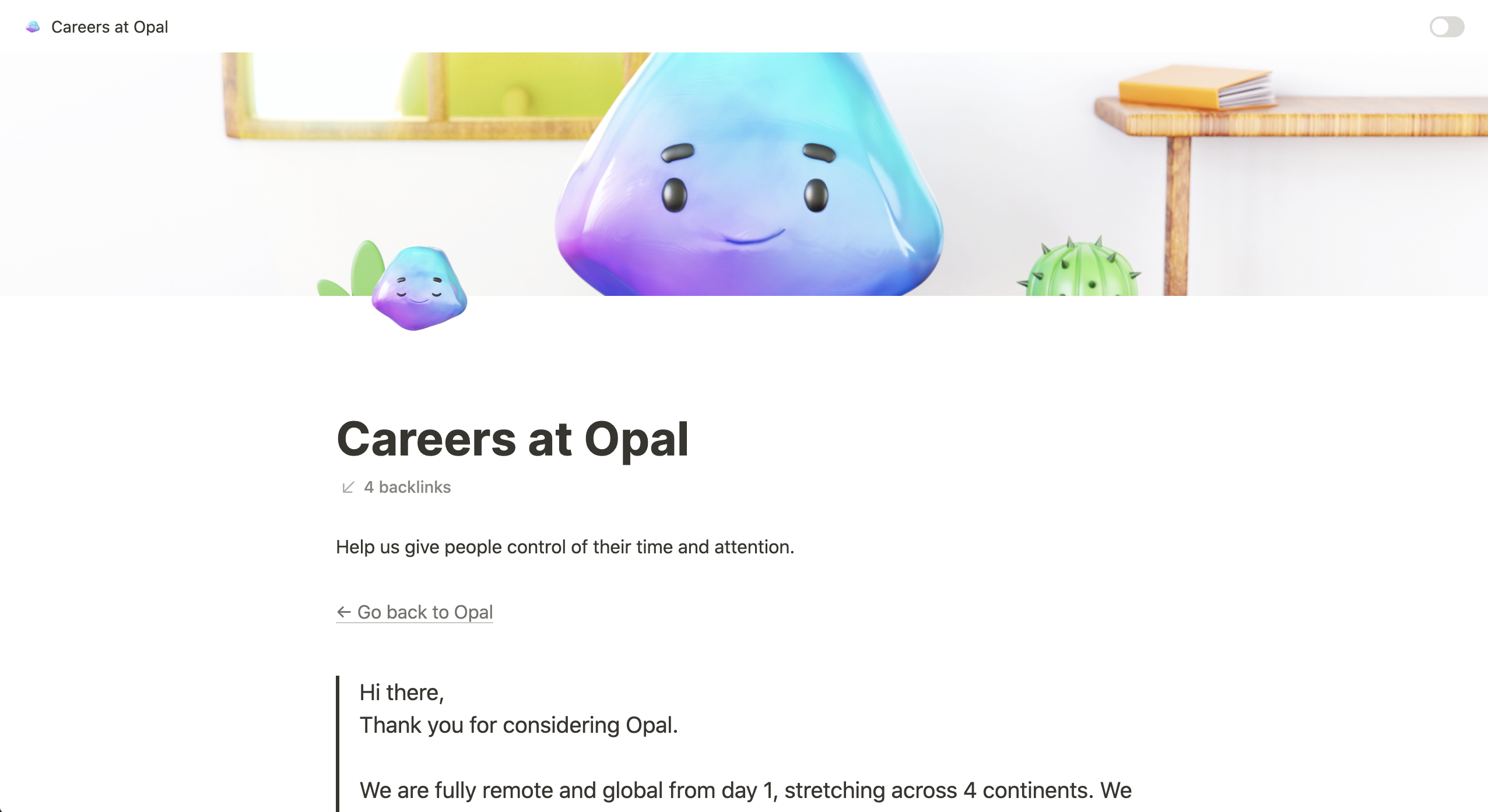 Careers at Opal