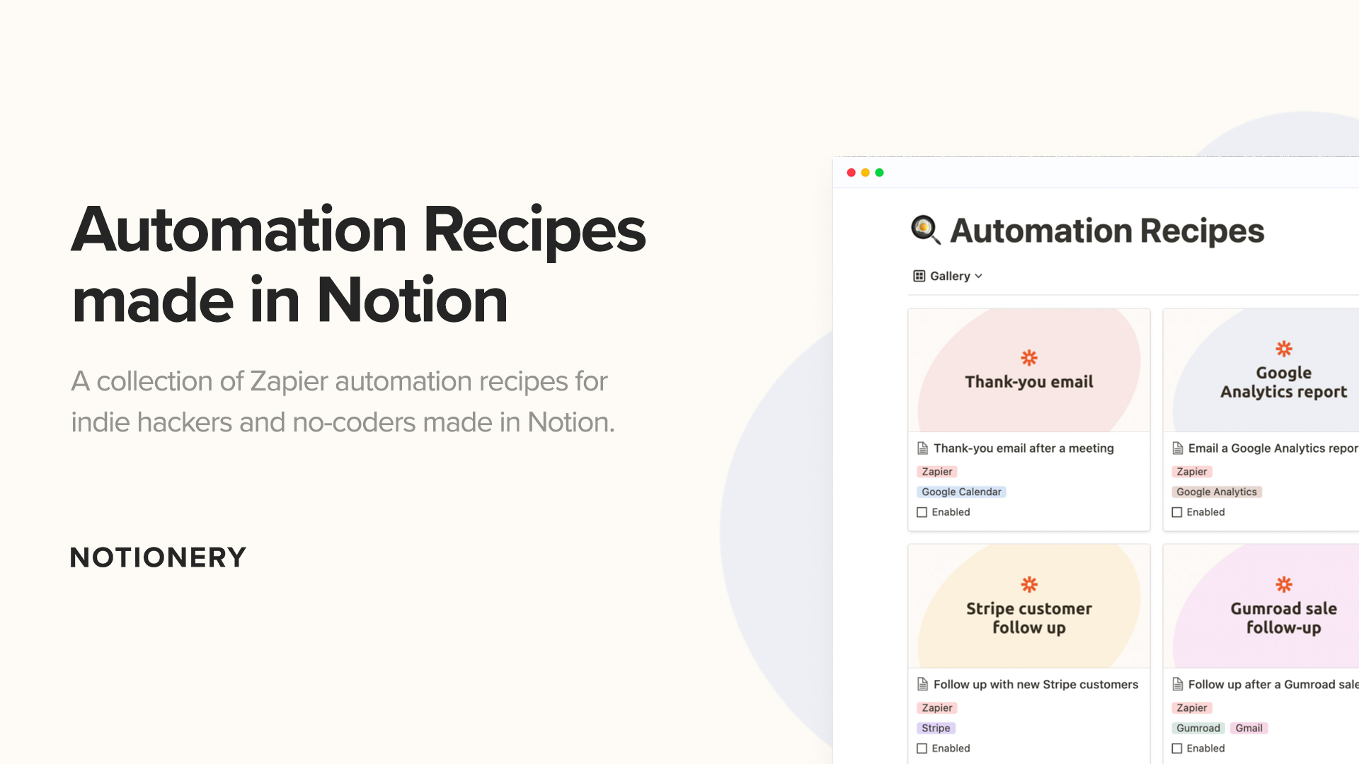 Automation Recipes