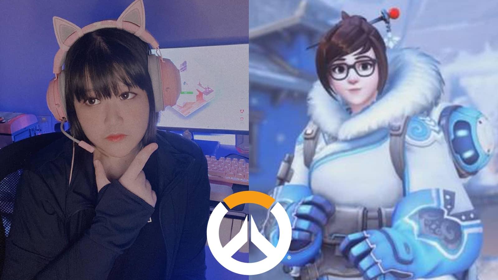 Overwatch Mei Cosplay