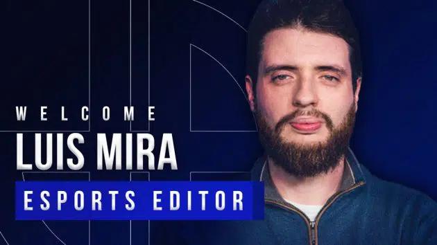 Dexerto announces hiring of Luís Mira as new Esports Editor