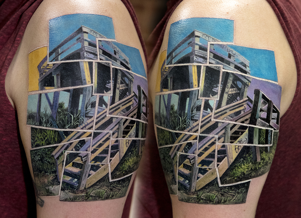photo tattoo by Mikhail Andersson
