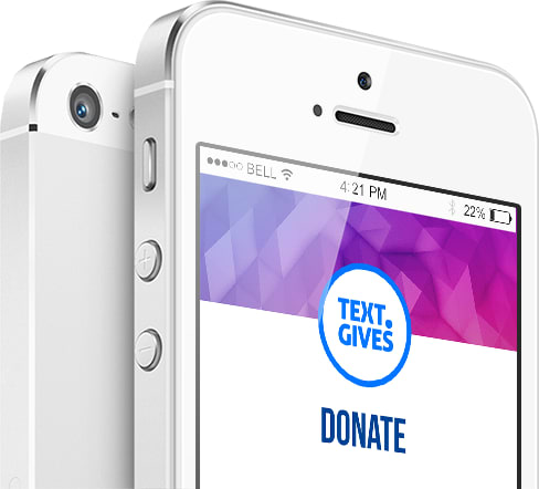 Event.Gives Text-To-Donate
