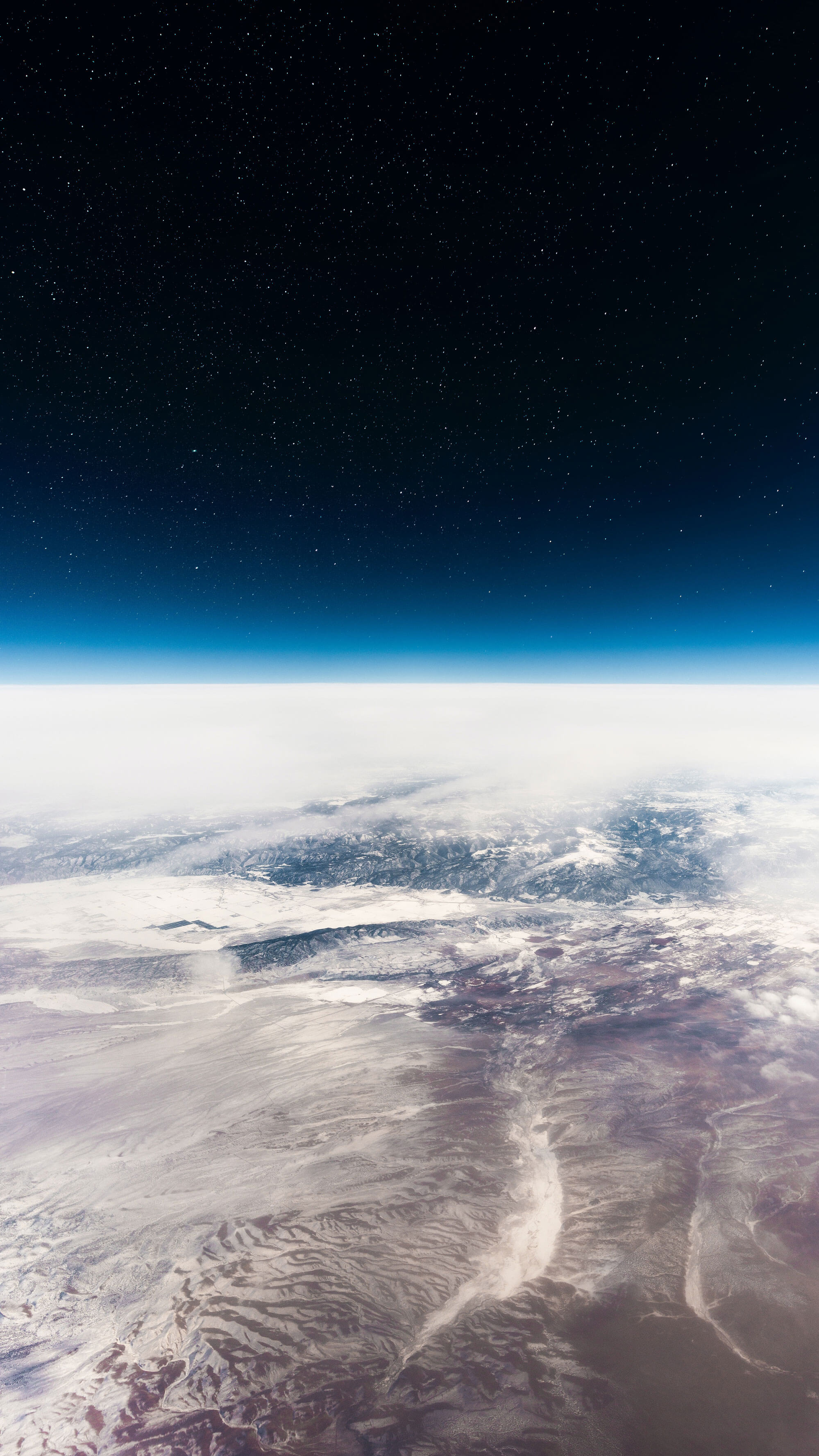 Earth view from the space