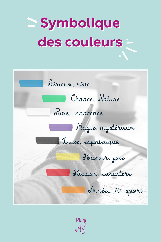 symbolique des couleurs graphisme