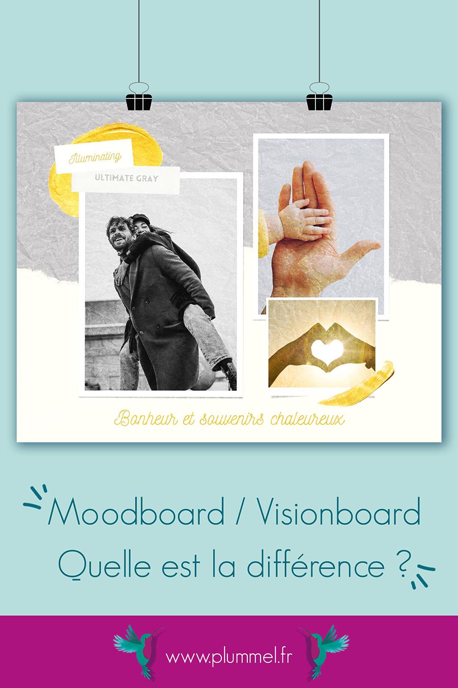 moodboard couleurs de pantone 2021