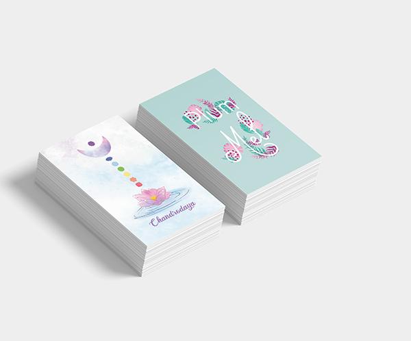création de visuels pour cartes de visites