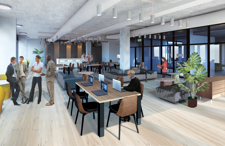 Tech Center with CoWorking  Philadelphia #livingcityarch