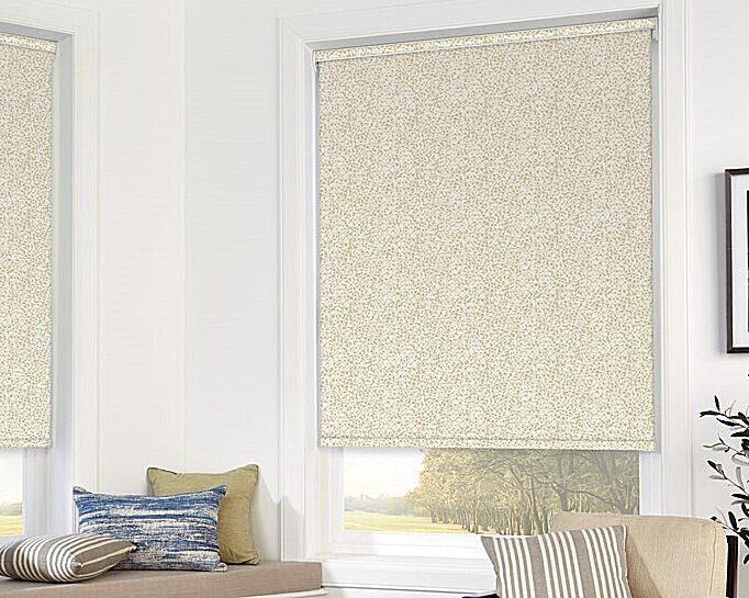 Roller blinds image at home page