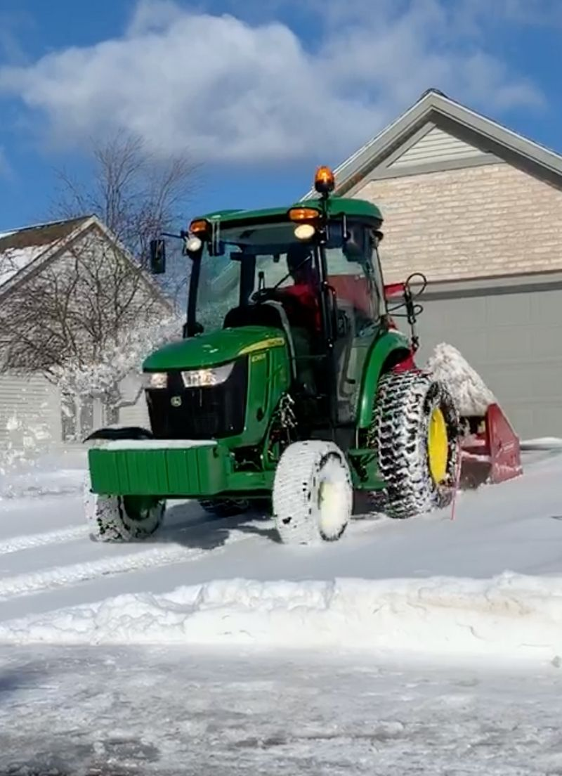 Vanvossen snow removal in ada michigan