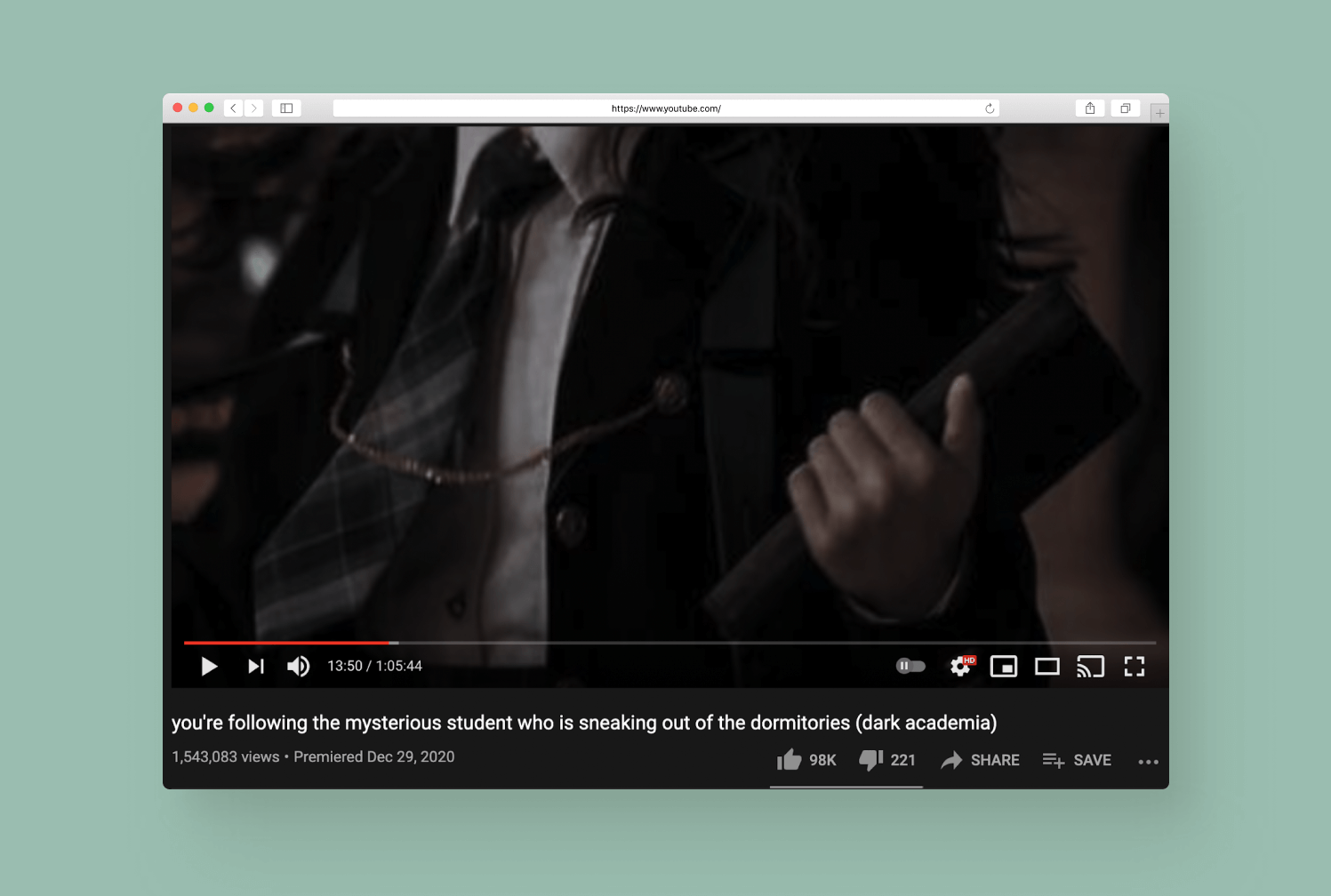 Dark Academia - Youtube