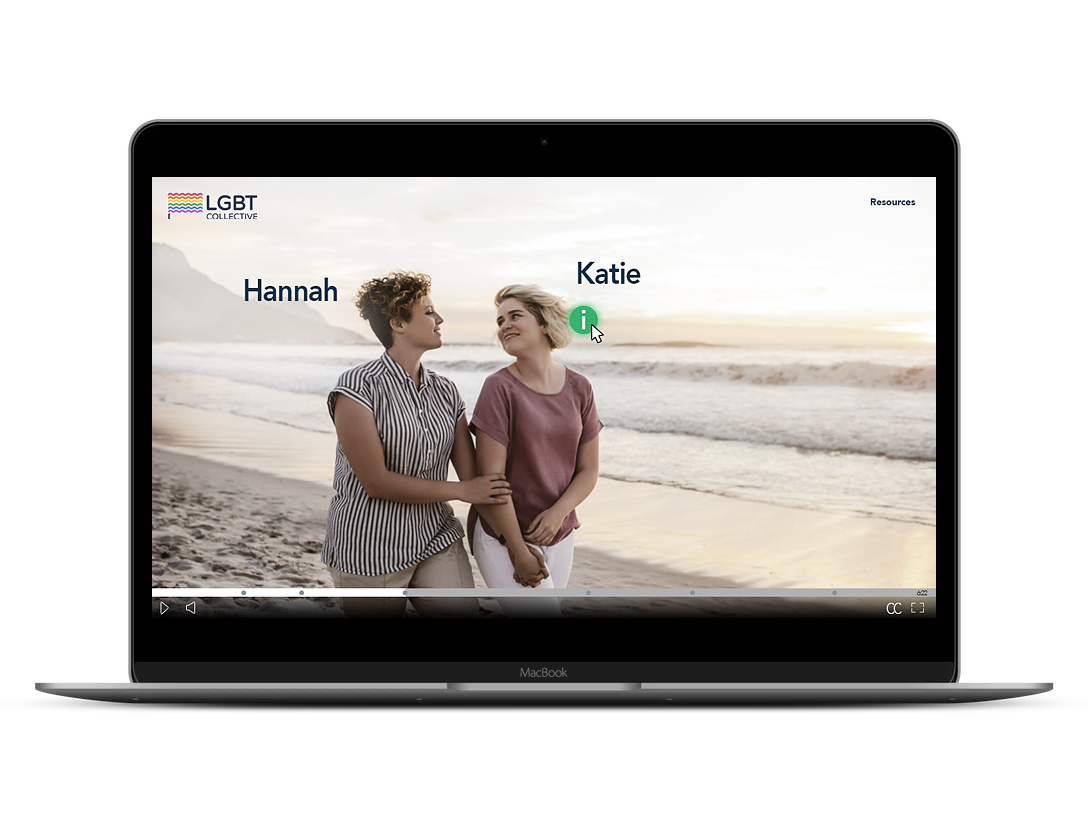Circles of Trust is a Health and Wellbeing Awareness interactive video created with Wirewax for a non-profit LGBTIQ community.
