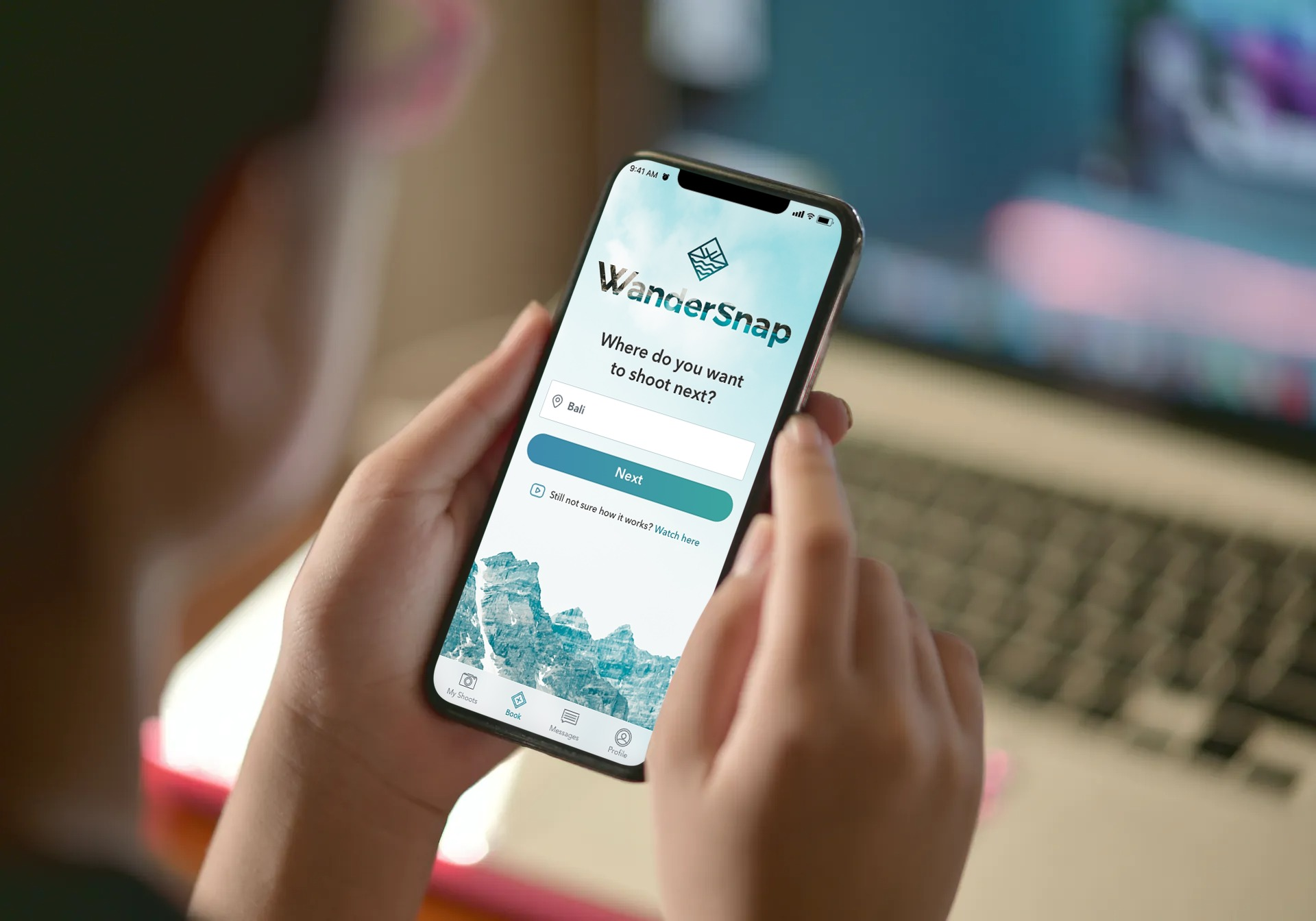 WanderSnap is an online platform where people can book photographers anywhere, currently focus on countries in Asia.