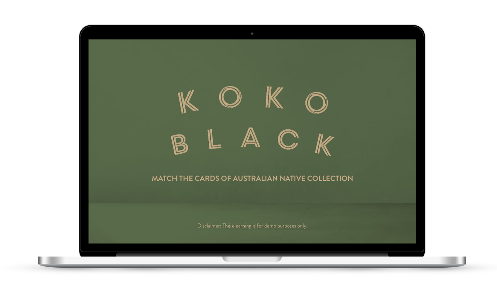 Koko black interactive chocolate memory elearning game in Sydney