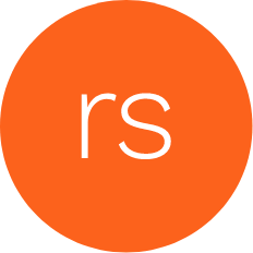 Rounded Articulate Rise logo in orange