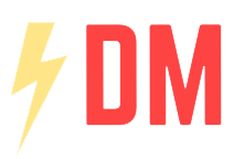 Daniel McCall Logo with Lightning Bolt