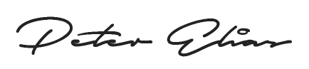 Peter Elias Signature