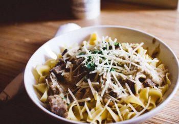 Authentic homemade Italian pasta dishes.