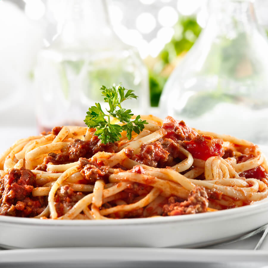 Authentic homemade Italian pasta dishes.