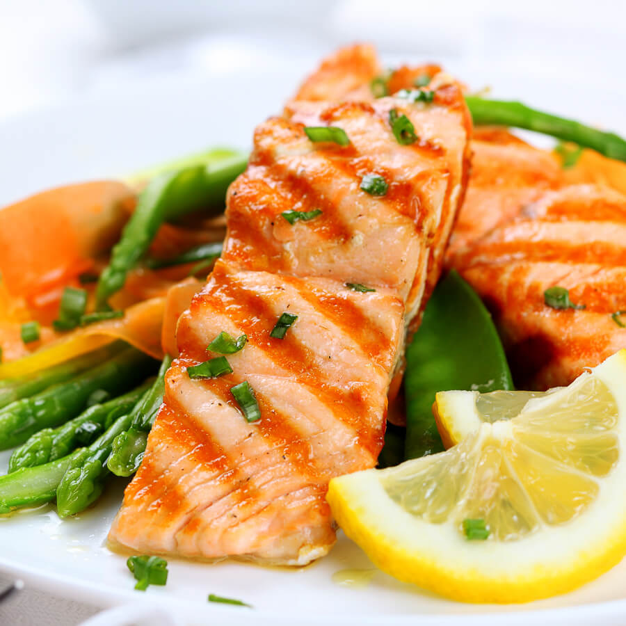 Healthy fresh fish dishes.