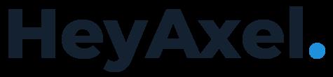 Axel typographic logo