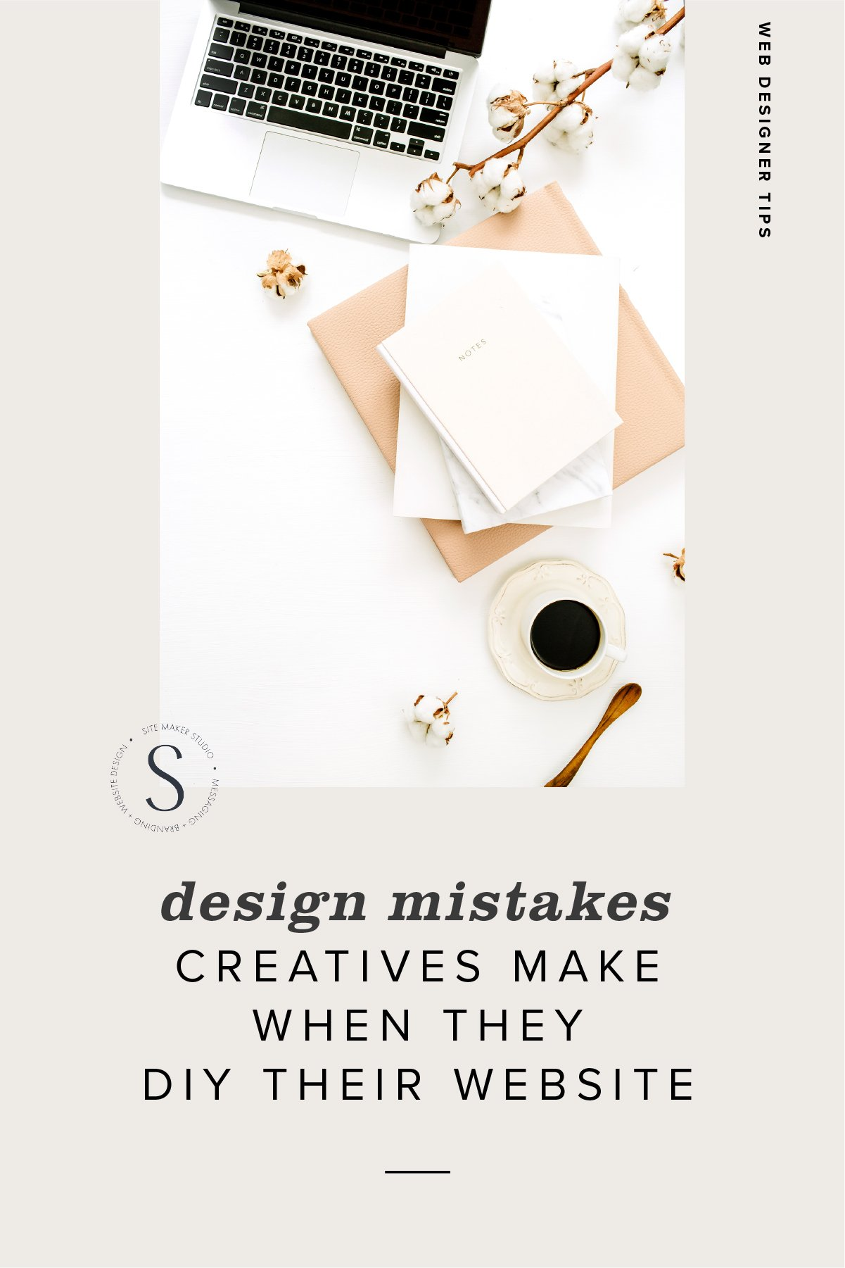 design mistakes creatives make when they diy their website site design blueprint waitlist cta