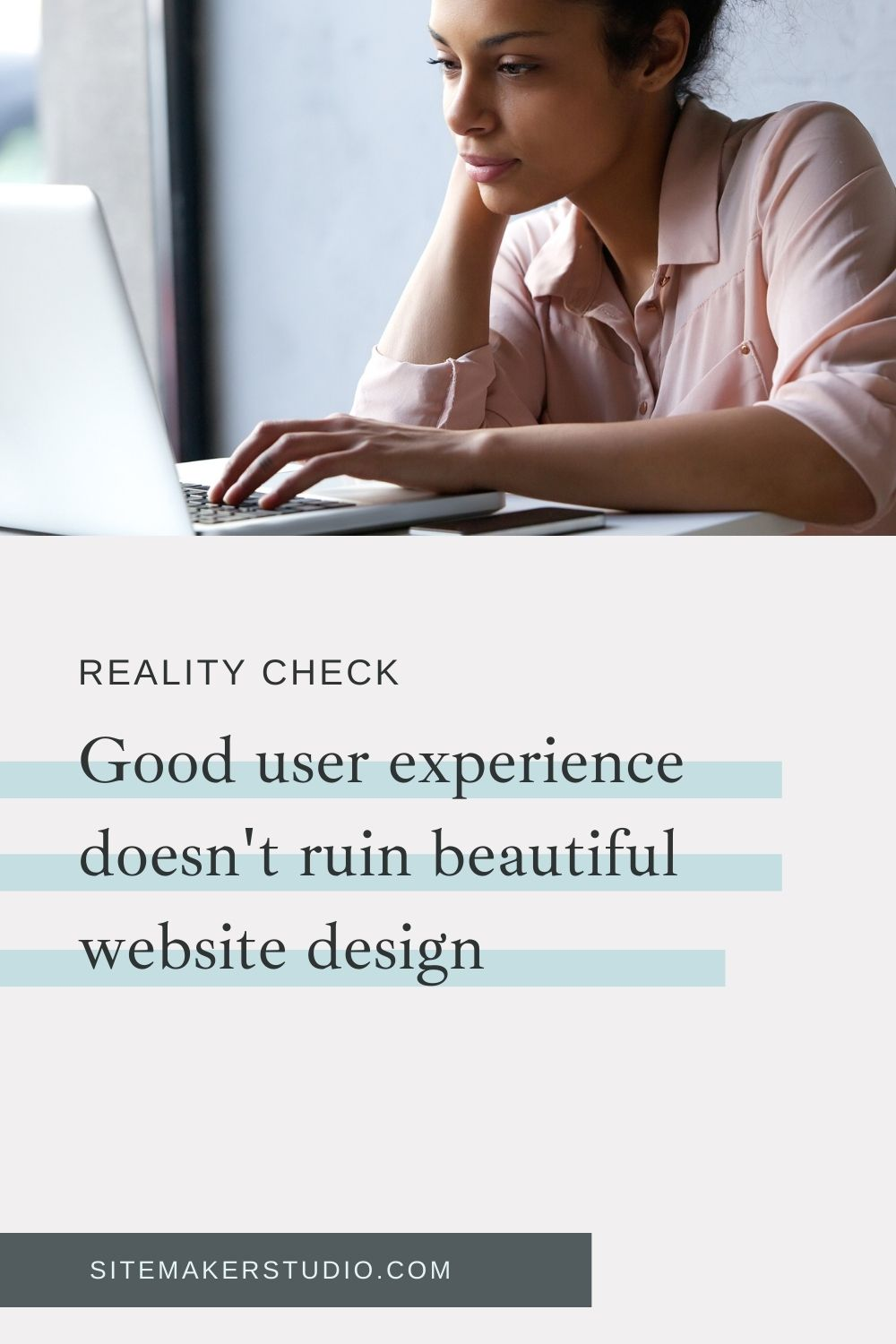 good user experience does not ruin beautiful website design
