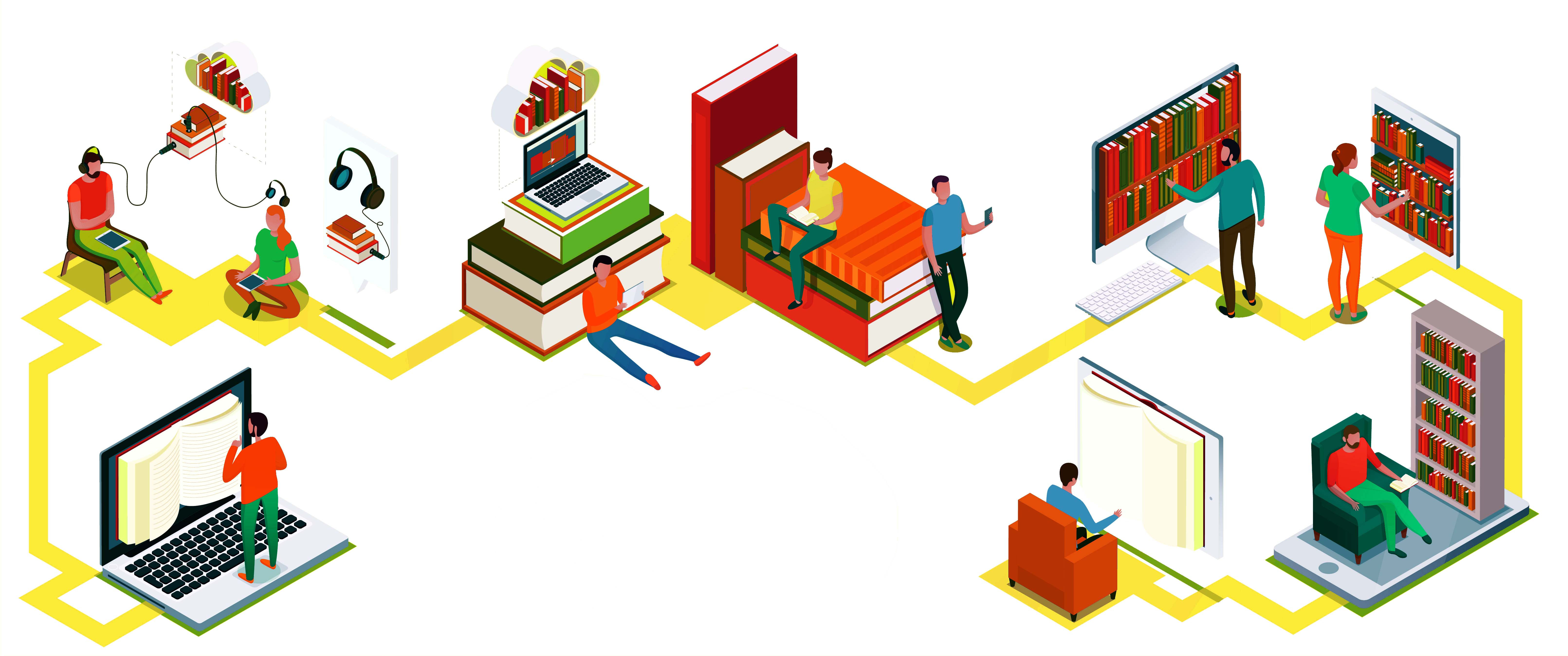 all in one digital library for everyone