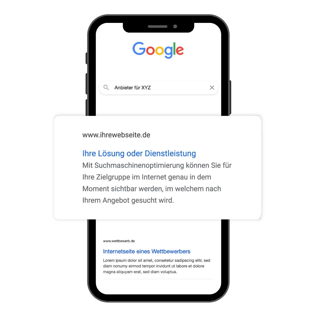Google Mockup SEO