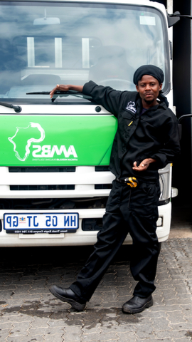 African Modular Building Solutions Staff Member