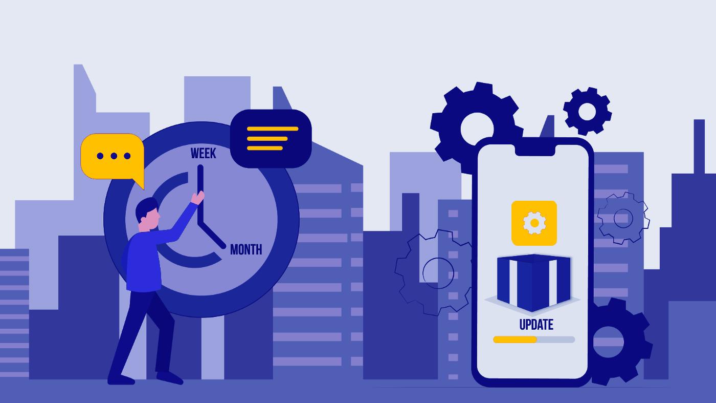 How often you should update your app