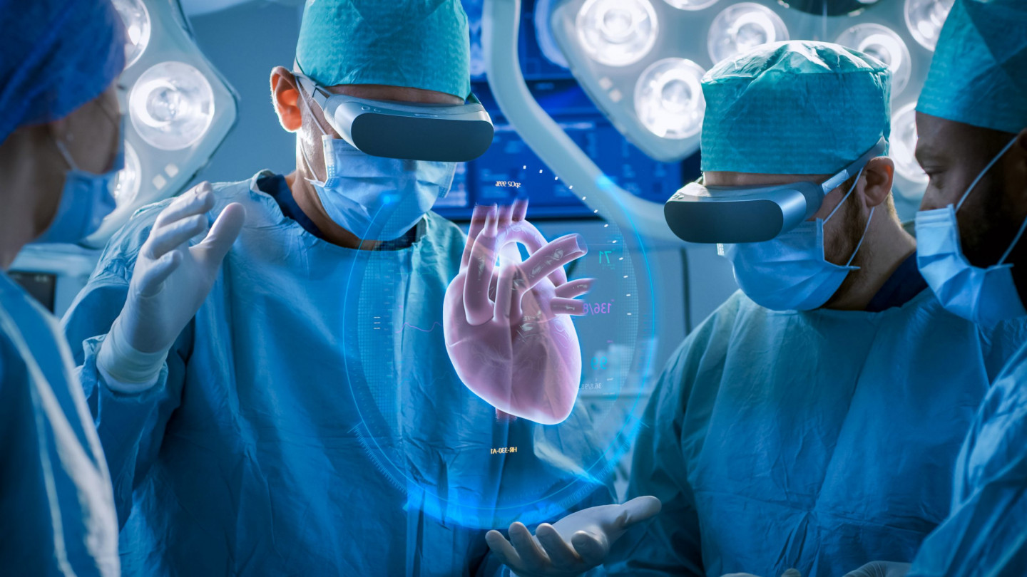 Vitual reality in healthcare